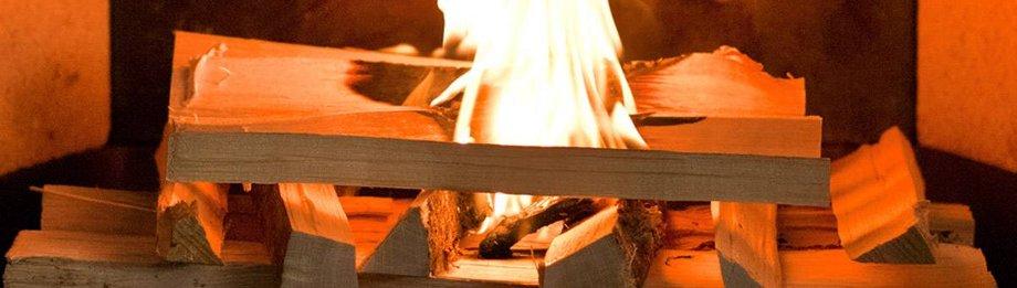 Erst Holz, dann Briketts